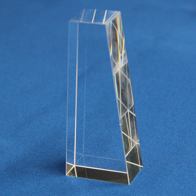 Glass Tarped Prisms